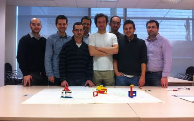 My experience on Scrum simulation with LEGO